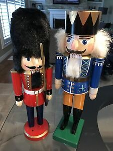 German Handcrafted Nutcrackers for $20 each!