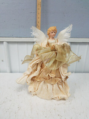 Angel Tree Top Star 14 Inch Topper Ornament Figurine Christmas  🎄 Angel Tree Top Ornament