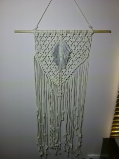 Macrame wall hanging Bray Park Pine Rivers Area Preview