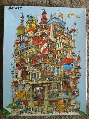 COMPLETE Vintage Springbok puzzle 'Verticalville' Robert Bob Martin