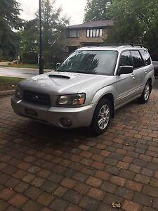 Subaru forester xt 2004 manuel