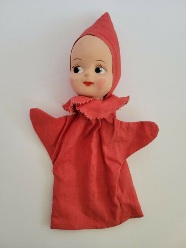 Vtg Pinkie The Hospital Puppet Children