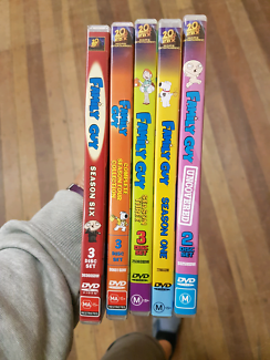 5x Family Guy Seasons