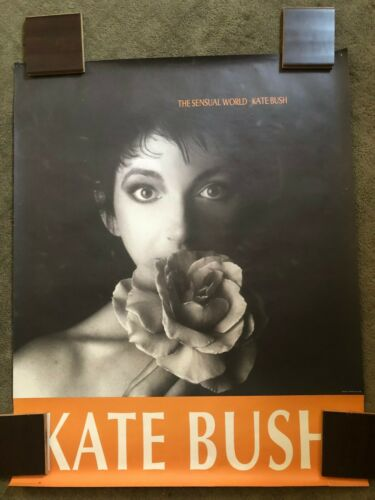 "Kate Bush 1989 The Sensual World Rare ORIGINAL Promo Poster 45"" x 36"""