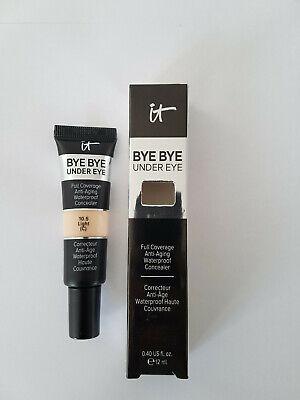 IT Cosmetics - Bye Bye Under Eye Concealer Shade Light or Medium 12ml - UK POST