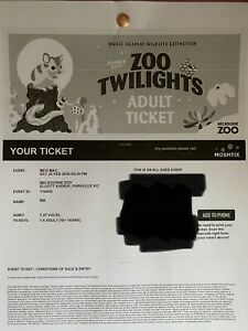 Meg Mac Zoo Twilight Concert Tickets