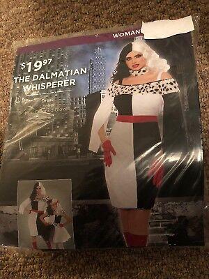 Halloween Costume Woman The Dalmatian Whisperer Small, Medium or Large](Dalmatian Costume Halloween)