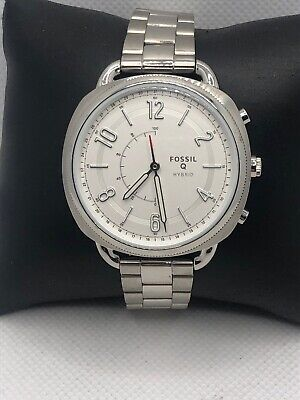 Fossil Q FTW1202 Women's Stainless Steel Analog Dial Hybrid Smart Watch HK394