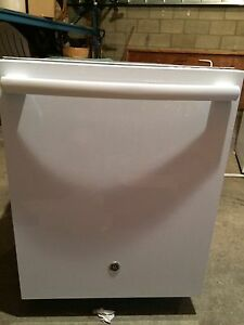 "GE 24"" Tall Tub Built-In Dishwasher White"