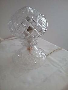 Crystal Cut Glass Lamp Wallsend Newcastle Area Preview