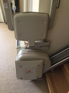 Electric stair lift and chair
