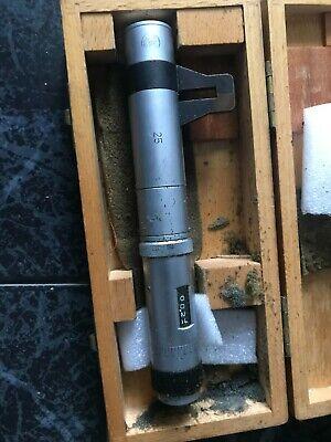 Pierre Roch Etalon Inside Micrometer 25-50mm Very Rare