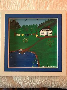 Nova Scotia Folk Art Painting