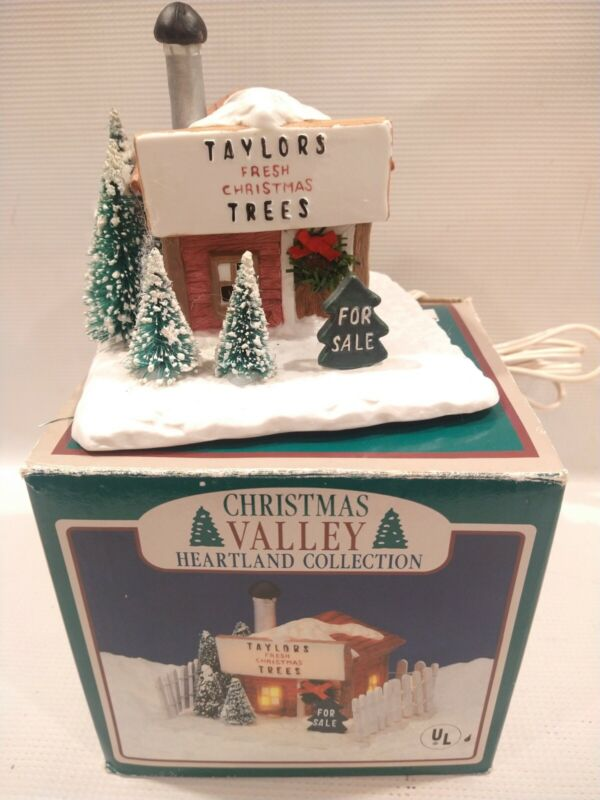 CHRISTMAS VALLEY DELUXE PORCELAIN Taylor