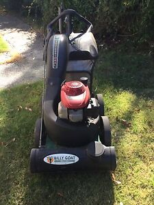 Billy Goat Professional yard vac Wesley Vale Latrobe Area Preview