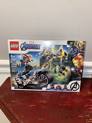 LEGO 76142 Marvel Avengers Speeder Bike Attack 226 Piece Building Set Toy 2020