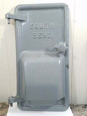 Cast Iron Door From South Bend Lathe Motor Housing Bench Stand - Aprox 18 X 9