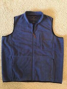 Beretta Vest Fleece XL Frost Navy
