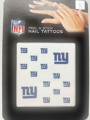 New York Giants Tattoos (New York Giants Peel & Stick Nail)