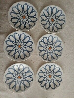 Corelle Amalfi Azul Bread & Butter Plates  6 3/4
