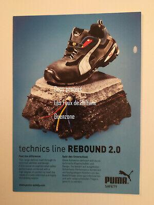 Puma rebound 2.0 shoes baskets  pub carte postale