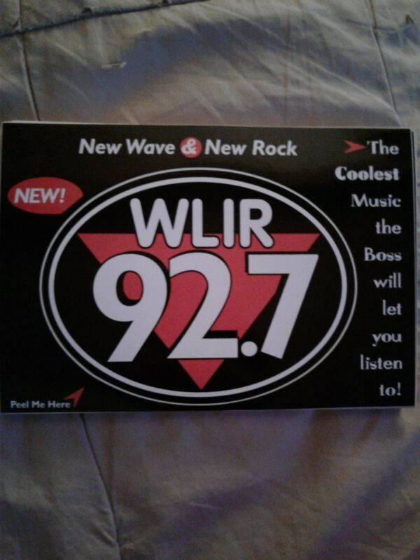 WLIR sticker