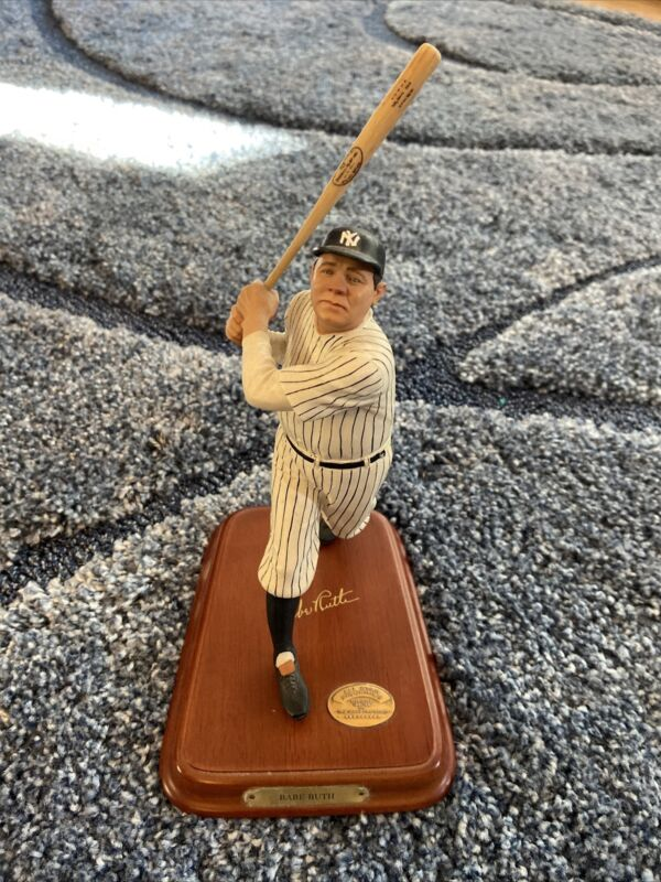 danbury mint figurines babe ruth