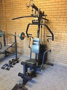 Donna Aston hyperextension home gym and York fitness bench press Collingwood Yarra Area Preview