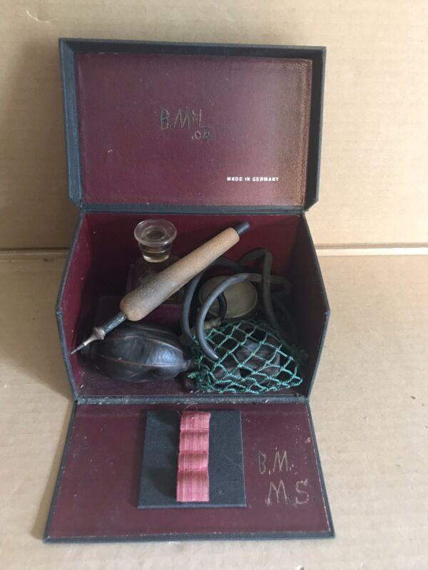 Antique German Pyrography Kit