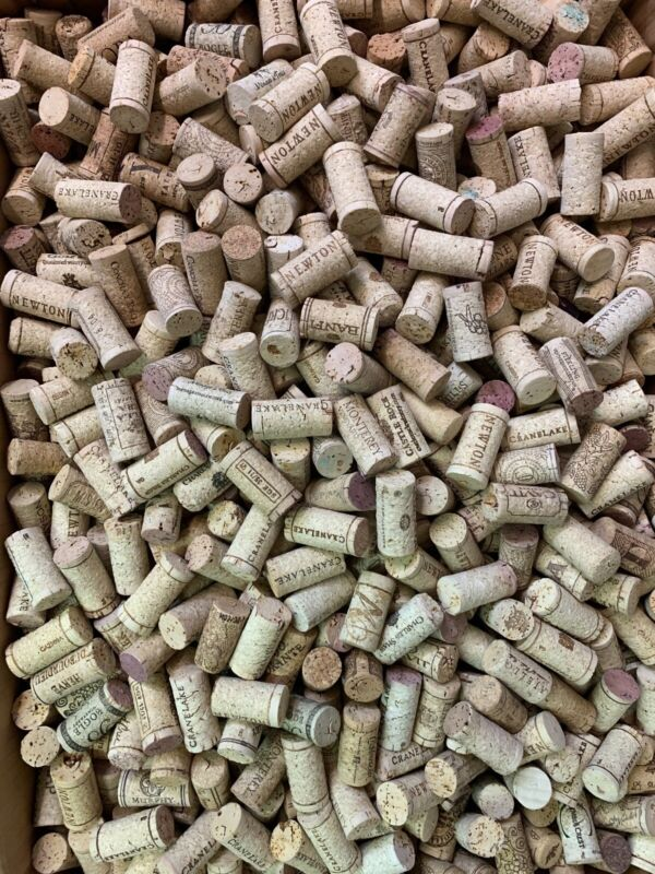 Used Wine Corks-All cork, No synthetics or champagne-  500