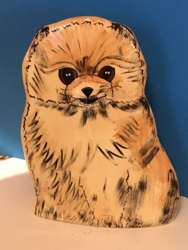 Pomeranian Dog Vase/Planter