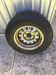 Ford 12 slot rim and tyre Clearview Port Adelaide Area Preview