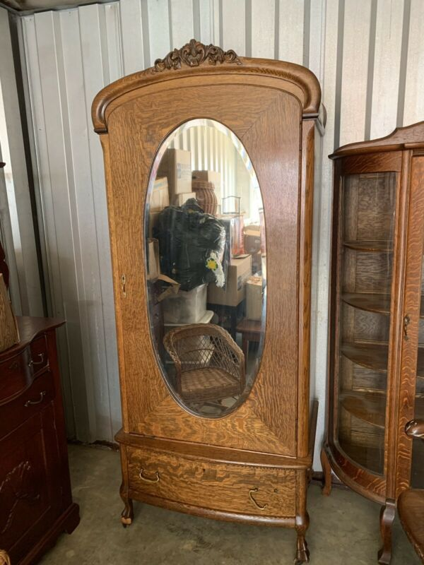 Victorian Tiger wood Wardrobe