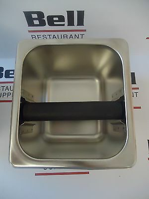 New Update Kb-164 Stainless Coffee Espresso Knock Box - 4 Deep - Free Ship