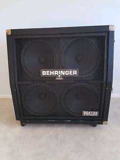 Behringer BG412S Ultrastack 400 Wattguitar amp cabinet