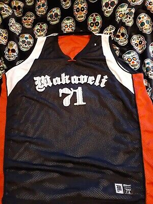 makaveli branded Jersey Shirt Sz 2x Tupac Rap Hip Hop Vintage Death Row 2pac