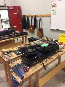 Conestoga College Guitar Repair and Design level 1