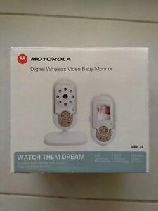 MOTOROLA DIGITAL VIDEO BABY MONITOR NEW CONDITION