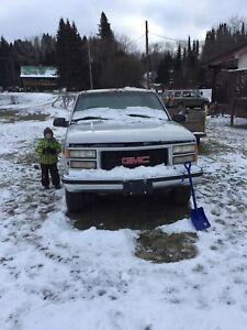 1996 GMC Extended Cab 4x4 parts truck
