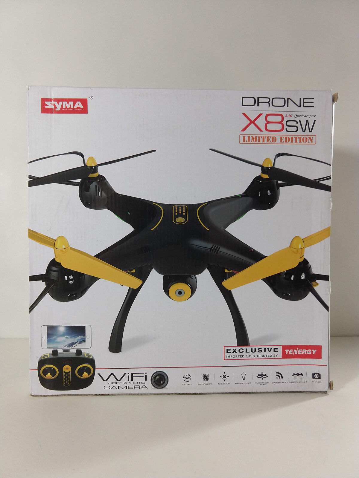 Syma X8SW Wifi FPV Quadcopter Drone 720P HD Camera Altitude Hold RC 2.4G