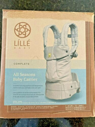 Lille Baby Complete All Seasons Baby Carrier - Stone - NEW OPEN BOX! SHIPS FREE!
