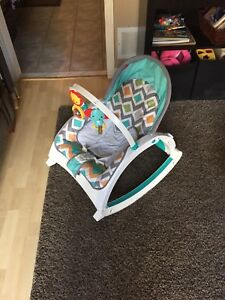 Fisher  Price vibrating infant chair