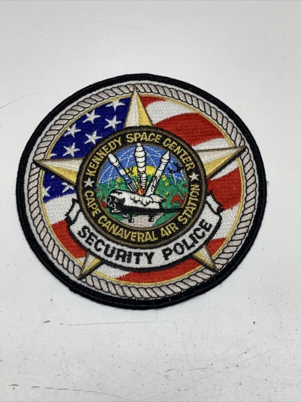 Official Kennedy Space Center Security Police Patch KG Cape Canaveral