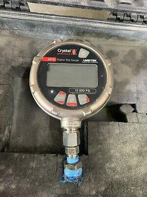 Ametek Crystal Engineering Xp2i Digital Test Pressure Gauge 10k Psi 10000 Wcase
