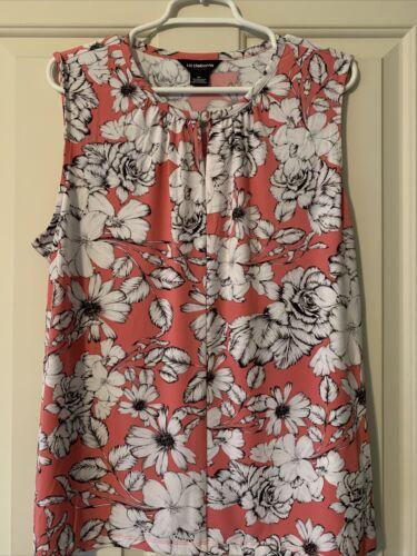 Liz Claiborne Career Top Size XL *Rose Floral