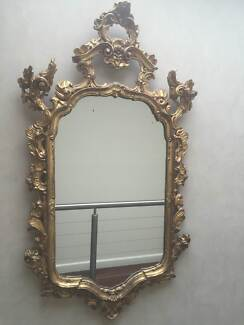 MAGNIFICENT GOLD VENETIAN MIRROR Sandy Bay Hobart City Preview