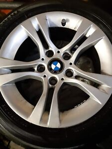 "BMW 16"" tires and rims"