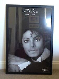 Michael Jackson Framed Print/Poster Chelsea Kingston Area Preview