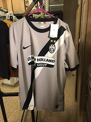 Nike XL 2010-2011 JUVENTUS Third Shirt Camiseta Kit Jersey Trikot NWT STUNNING! image