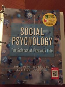 The science of everyday life: social psychology textbook